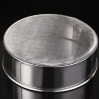 25CM Stainless Steel Kitchen Mesh Flour Sieve Cake Bread Baking Flour Sifting Sifter Household Bread Shop Kitchen Baking Tool