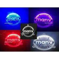 LFM-Many獨特3D雷射雕刻LED風扇外蓋~VJR/VJR110/VJR125/Many125/魅力/Many110
