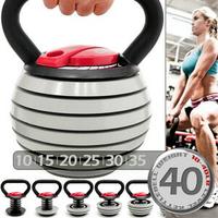 快速調整40磅18公斤壺鈴組合(可調式10~40LB)18KG拉環啞鈴搖擺鈴KettleBell重力舉重量訓練.運動健身器材.推薦哪裡買 C113-2004