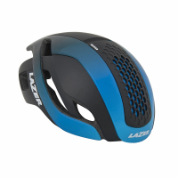 【LAZER】Bullet 空氣力學安全帽(黑/漸層藍)