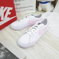 NIKE COURT LEGACY (GS) 大童 童鞋 休閒鞋 DA5380109 白粉【iSport愛運動】