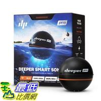 [107美國直購] 無線魚探儀 Deeper PRO PLUS Smart Sonar - GPS Portable Wireless Wi-Fi Fish Finder Shore