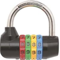 【BOSVISION 博士威】PL861/高級4字輪密碼鎖(7.8mm直徑)
