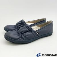 ★日本月星Moonstar機能介護鞋COMFORT CASUAL系列寬楦輕量柔軟鞋款2177灰(銀髮段)