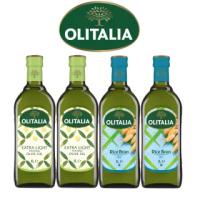 【Olitalia奧利塔】精緻橄欖油+玄米油(1000mlx4瓶)