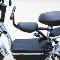 自行車兒童座椅 新款雅迪愛瑪電動車兒童座椅前置電瓶車寶寶安全坐椅電車小孩坐凳【PKS1113】