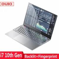 2021 New 15.6 Inch i7 10th Gen Laptop 8GB 16GB DDR4 RAM 128G 256GB 512GB 1TB SSD With Backlit keyboard Fingerprint For Gaming