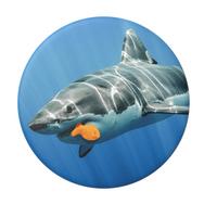 【正版現貨】PopSockets 泡泡騷 鯊魚餓了 二代氣囊伸縮手機支架 手機指環 手機支架 立架 氣囊支架
