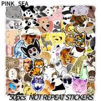 10/30/50ชิ้น/เซ็ตการ์ตูนสัตว์น่ารักสัตว์เลี้ยง Graffiti ผสมสติกเกอร์สำหรับเด็ก Diy กระเป๋าเดินทางกีตา...