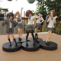 18ซม.K-ON!อะนิเมะรูปHirasawa Yui Nakano Azusa Kotobuki Tsumugi Sama Tainaka Ritsu PVC Action Figure Collectionของเล่นGif