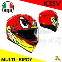任我行騎士部品 AGV K3SV BIRDY 全罩 安全帽 內墨鏡 除霧片 憤怒鳥 K3-SV
