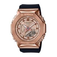 G-SHOCK 玩美時尚金屬八角形錶殼-玫瑰金 (GM-S2100PG-1A4)