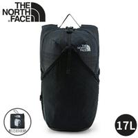 【The North Face 17L 輕量多功能CORDURA背包《深黑》】3KWR/雙肩休閒背包/隨行包/輕質耐用