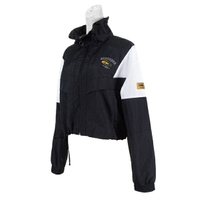 Skechers Outerwear [L121W039-002K] 女 外套 短版 立領 防風 薄款 兩側口袋 黑