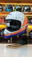 預購商品 任我行騎士部品 SHOEI EX ZERO 山車帽 內鏡片 復古 EX-ZERO 全罩 安全帽 彩繪TC-2 藍白 可PFS