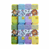 Brain Quest Deck A Series of Educational Flashcards Kids Intellectual Development Game Card Books English Version