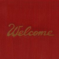 3M   2x3  紅色英文(歡迎光臨)安美止滑地墊 / 個