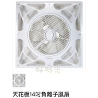 好時光~威利14吋負離子風扇 輕鋼架電扇 循環扇 抗菌 清新 脫臭 AC110V DC 附遙控器 台灣製造