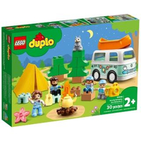 【LEGO 樂高】《 LT10946 》Duplo 得寶系列 - 家庭露營車大冒險