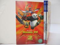 【書寶二手書T6/少年童書_J2X】Kung Fu Panda 2_Mr. Bean:The Palace of Bean等_5本合售_附光碟