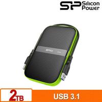 SP 廣穎 Armor A60 2TB/1TB/4TB/5TB 黑綠 2.5吋 軍規防震 行動硬碟 外接硬碟 網格表面