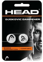 【H.Y SPORT】HEAD DJOKOVIC DAMPENER 喬科維奇球拍避震器 6H01A285704WH 白色