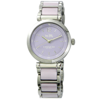 刷卡滿3千回饋5%點數 COACH 耀眼迷人時尚陶瓷腕錶/14502461