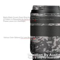 RF85 Lens Skin Decal For Canon RF85 f2 Macro Wrap Film Protector Anti-scratch Sticker