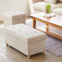 【IRIS】折疊收納木腳長椅凳 ASSTW76(大容量/收納/日本設計/多功能)