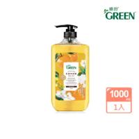 【Green 綠的】抗菌沐浴露-橙花燕麥(1000ml)
