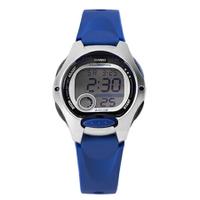 CASIO卡西歐 海洋藍色多功能休閒運動女腕錶童錶 十年電力系列 柒彩年代【NE1805】原廠公司貨