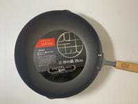 TETSU日本製木把窒化炒鍋-28公分