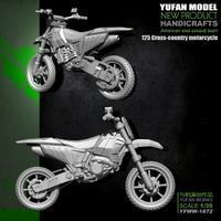 YuFan Model與帆原創1/35 125越野摩托車 樹脂兵人 YFWW-1872