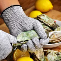 Cut Resistant Gloves Cut Proof Gloves Kithchen Garden Working Accessories Anti-cut Level 5 Safety Work Gloves HPPE EN388