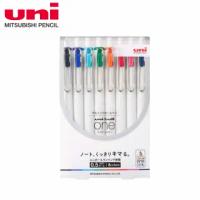 【UNI】三菱 UNI-BALL ONE鋼珠筆 8色套組 0.5