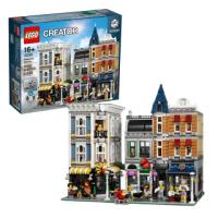 【LEGO 樂高】Creator Expert Assembly Square 10255 積木 玩具(10255)