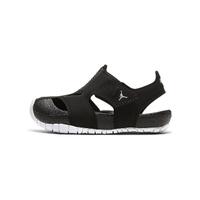 【NIKE 耐吉】涼鞋 小童 童鞋 兒童 運動 休閒 喬丹 JORDAN FLARE TD 黑 CI7850001