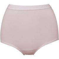 【華歌爾】新伴蒂-S型 高腰M-3L機能內褲盒裝2件組(柔粉紅)