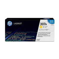 HP 307A 原廠黃色碳粉匣 CE742A 適用 HP CLJ CP5225(7,300張)