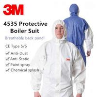 3M | ชุดป้องกันเชื้อ สารเคมี PPE รุ่น 4535