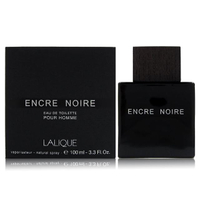 【LALIQUE 萊儷】Encre Noire 黑澤男性淡香水100ml(平行輸入)