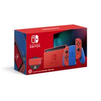 【Nintendo Switch 主機】瑪利歐 亮麗紅 x 亮麗藍 台灣機《現貨不用等》