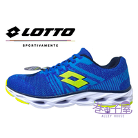 LOTTO樂得-義大利第一品牌 男款SUPER LITE輕量風動跑鞋 [LT9AMR0526] 藍【巷子屋】