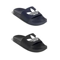 【adidas 愛迪達】男 女 防水 拖鞋 ADILETTE LITE 三葉草 ORIGINALS(FU8299 FU8298)