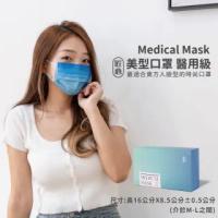【匠心】美型口罩-MD鋼印(天蔚藍 / 適合一般成人)