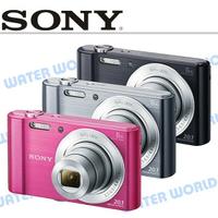 【中壢NOVA-水世界】SONY W810 DSC-W810 高畫素隨身相機 公司貨