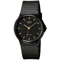 【CASIO 卡西歐】極簡時尚指針石英錶(MQ-24-1E)