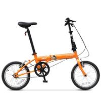 Folding Bicycle Dahon Bike Yuki High Carbon Steel KT610 Single Speed 16 Inch Urban Cycling Commuter Boys and Girls Adult Bike