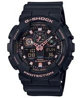 CASIO【卡西歐】G-SHOCK系列 指針/數位雙顯電子錶(GA-100GBX-1A4)