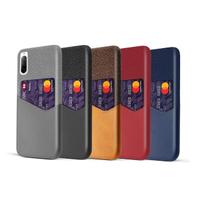 【拼布皮革】SONY Xperia 10 II 插卡手機殼(5色)